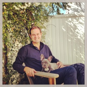 Bonding time in LA before I spoke at the LA Times Travel Show