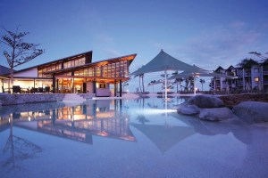 If you have one of the Carlson credit cards, you can get 2 nights at the Radisson Blu in Fiji for just 44,000 points.