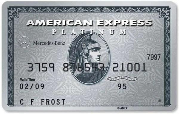 American express to discontinue mercedes benz platinum card for Mercedes benz platinum card