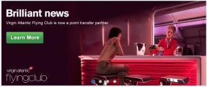 Ultimate Rewards Virgin Atlantic