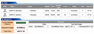 Brussels Airlines BRU-GVA Business Award