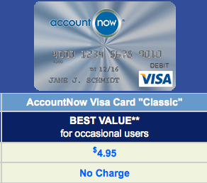 The AccountNow Silver is a good option because it doesn