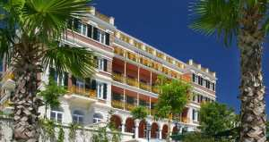 Exterior of the Hilton Imperial Dubrovnik.