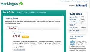 Aer Lingus - Allianz Ireland