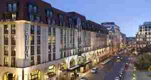 The Hilton Berlin is a centrally located Category 7 hotel next to the Gendarmenmarkt.