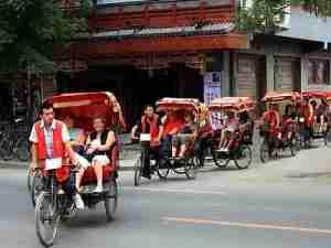 Take a rickshaw tour of one of Beijing