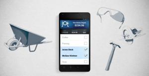 Jot even lets you categorize your expenses.