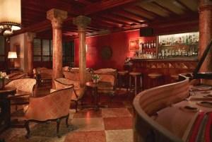 Bar Dandolo at the Hotel Danieli, Venice.