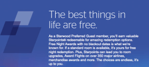 Starwood's member perks mean that I will be keeping the SPG credit card in my wallet for the foreseeable future.