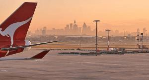 Sydney Airport (SYD) is a hub for Qantas.