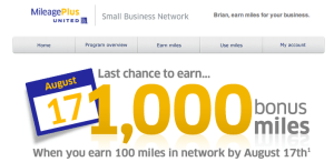 United small business 1k