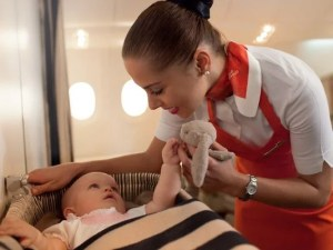 Now that Etihad offers nannies on board, we're taking a look at the family-friendliest airlines in the world.