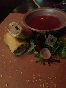 Duck Spring Roll