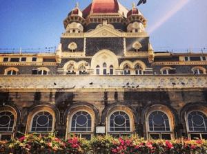 The fabulous Taj Mahal Palace and Towers in Mumbai, India.