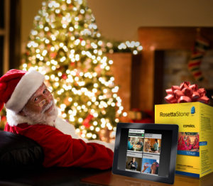 Give the gift of language with Rosetta Stone.