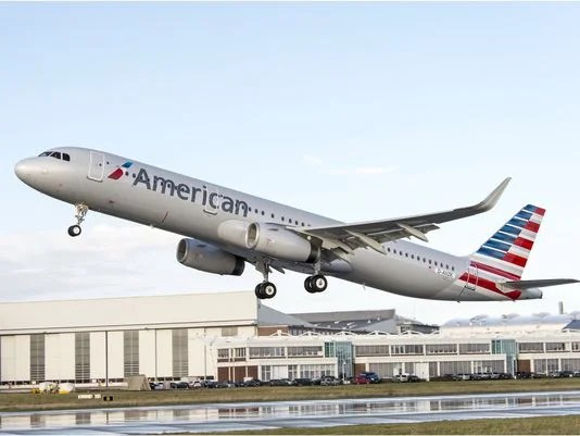 American has several new A321's entering service.