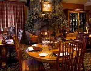 Enjoy a meal at the Rusty Parrot Lodge