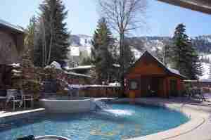 The pool at Aspen