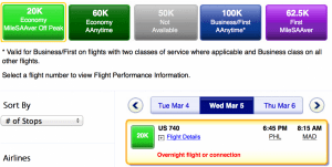 US Airways awards now bookable on AA.com