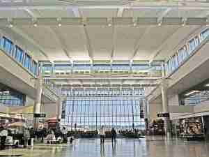 Terminal E at George Bush International Airport