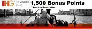 Earn 1,500 bonus points on your next IHG stay.