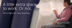 US Airways flights will soon have Main Cabin Extra seats.