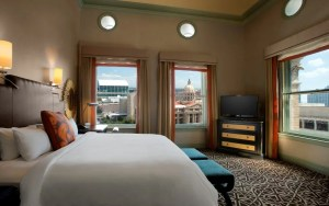 King guestroom at the Hotel ICON Houston