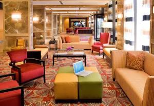 Lobby at the JW Marriott Houston