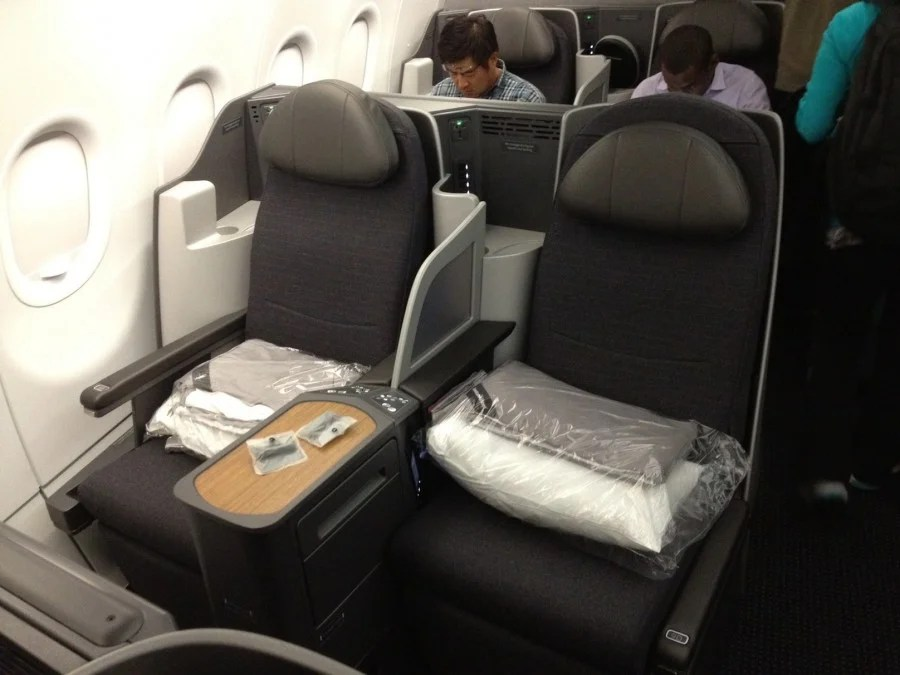 Flight Review American A321t Transcontinental Business