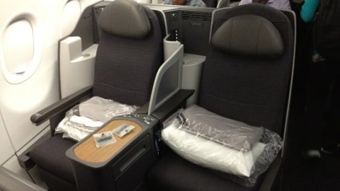 Flight Review: American A321T Transcontinental Business Class LAX ...