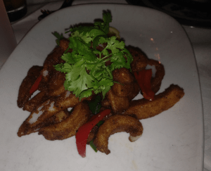 The chili salt squid at China doll.