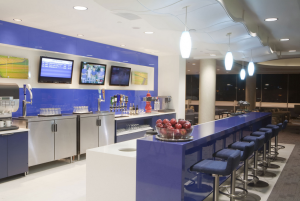 Delta SkyClub Lounge at LAX