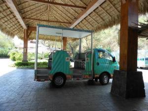 Hilton Papagayo Shuttle Trucks