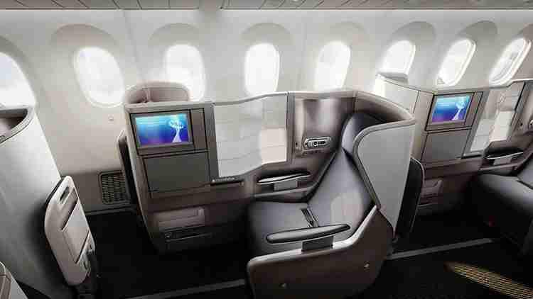 Club World seats aboard BA