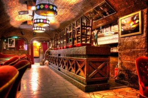 Cave au del Huchette jazz club.