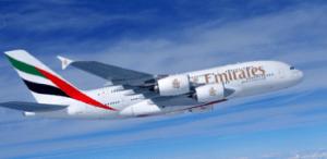 Emirates lauches shortest A380 route Dubai-Kuwait.