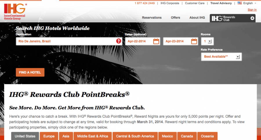 IHG PointBreaks can be a great value.