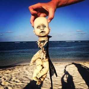 Creepy thing to find when snorkeling!