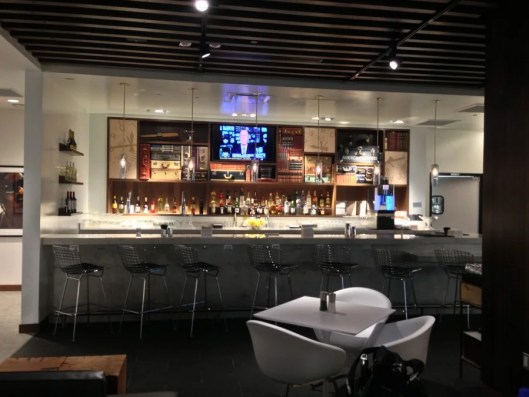 Killing time is a joy at the Dallas Centurion lounge.. enoying a micro brew after my spa treatment on my last visit in December