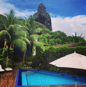 The pool at Fernando de Noronha