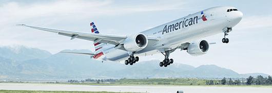 First class passengers on American