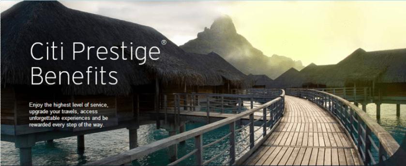 Citi Prestige 4th Night Free For AAA, AARP, Military Rates