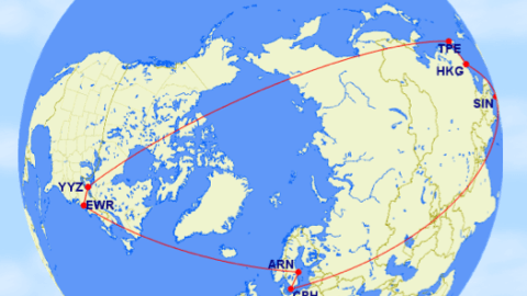 Flying a Round the World Award Using US Airways Miles – The Points Guy