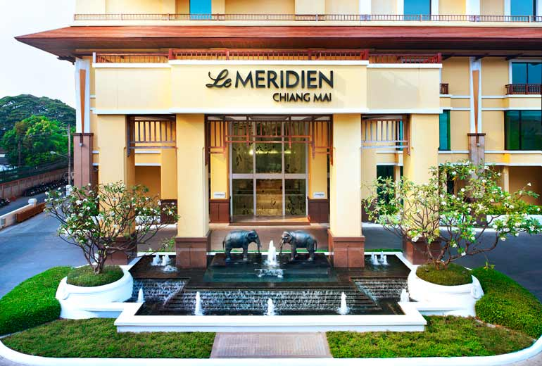 Rates at the Le Meridien Chiang Mai start at just 3,000 Starpoints per night.