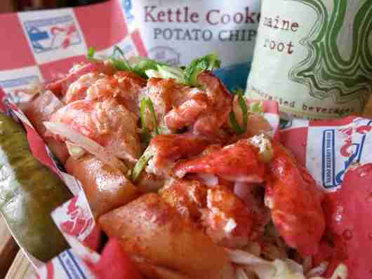 Lobster rolls at Red Hook Lobster Pound