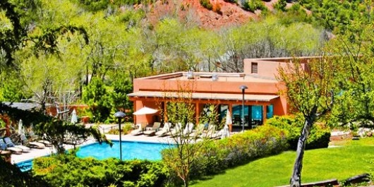 Visit Bishop's Lodge in Santa Fe at 40% off