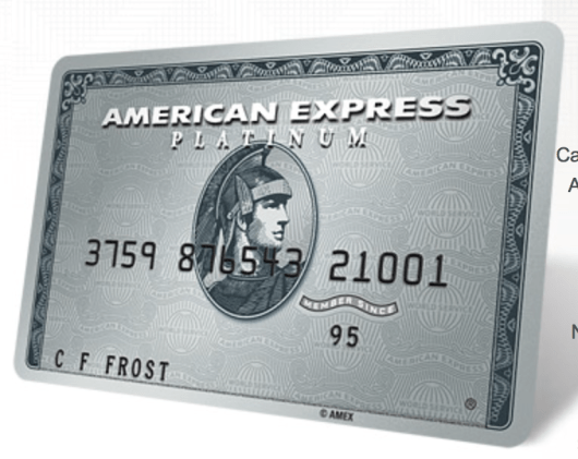 Earn 40,000 bonus points with the American Express Platinum Card.