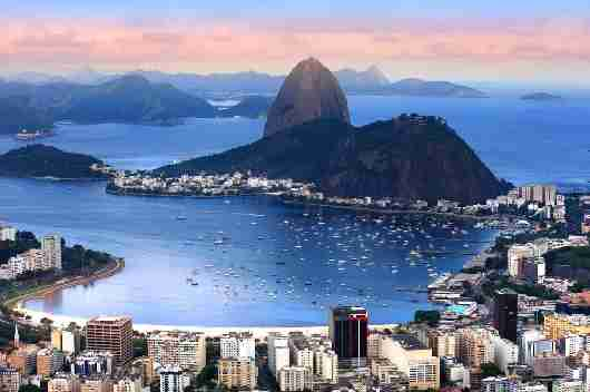 Our summer is winter in Brazil, which is still quite warm. Image courtesy of Shutterstock.