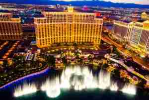 The Bellagio, the crown jewel of the Vegas Strip...image courtesy of Shutterstock