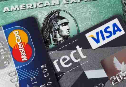Credit cards (Image courtesy of Shutterstock)
